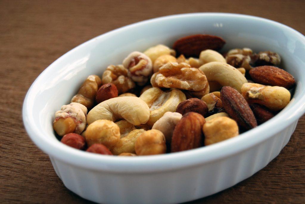 Nüsse als pflanzliche Proteinquelle