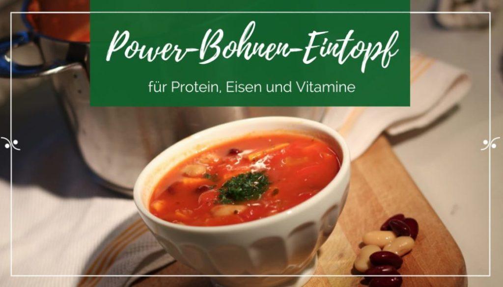 Titel: Veganer Bohnen-Eintopf mit Kartoffeln