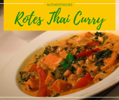 Authentisches Rotes Thai Curry Titelbild