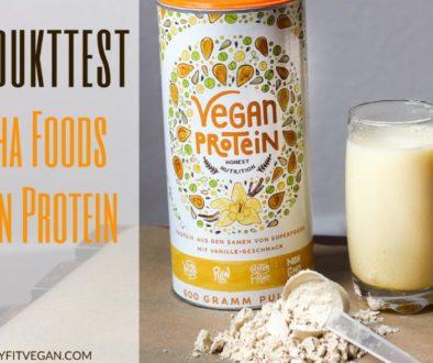 Produkttest Alpha Foods Vegan Protein