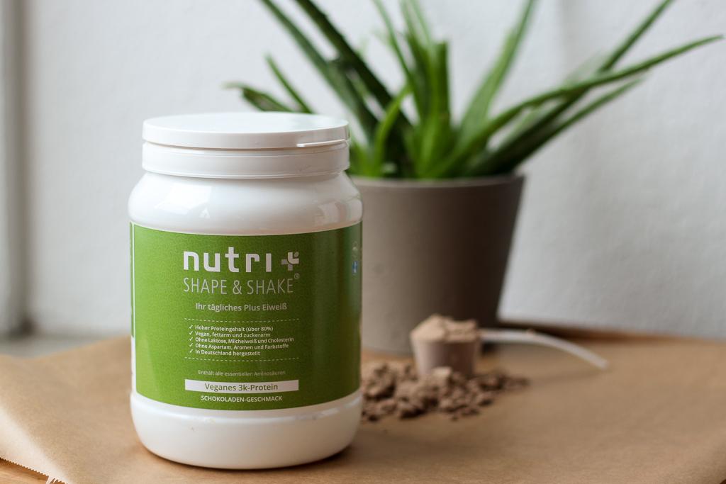 Produkttest Vegan Protein Nutri Plus