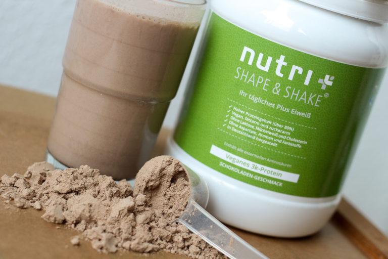 Veganes Protein Nutri Plus Erfahrungsbericht