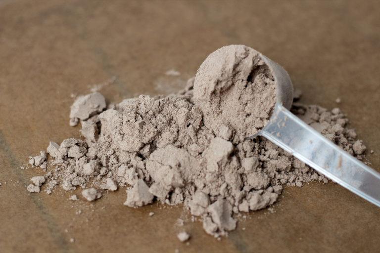 Veganes Proteinpulver Schokolade