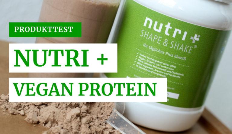 Produkttest Nutri Plus Vegan Protein